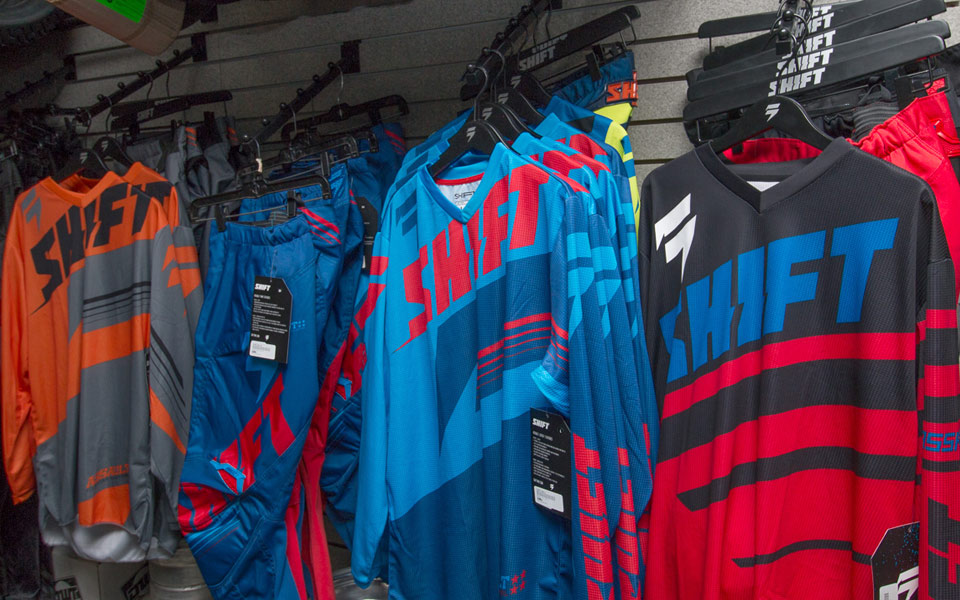 shift motocross jerseys